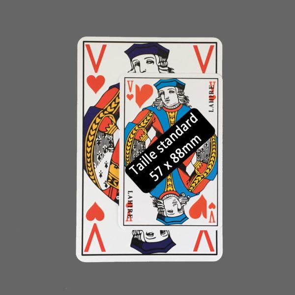 comparatif de taille des cartes